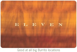 ELEVEN Gift Card